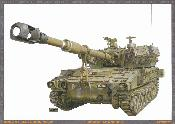 "M109 A5 ""ROCHEV"" - FORCES DE DEFENSE ISRAELIENNE - 1982"