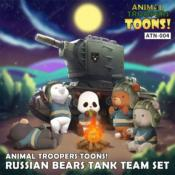 RUSSIAN BEARS TANK TEAM SET