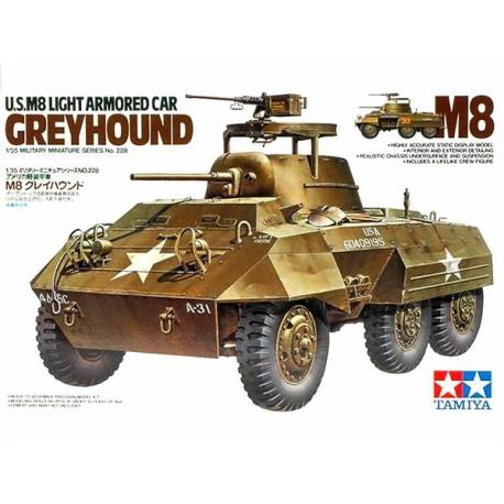 U.S M8 LIGHT ARMORED CAR