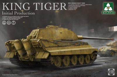 1/35 WWII German Heavy Tank King Tiger Inital production