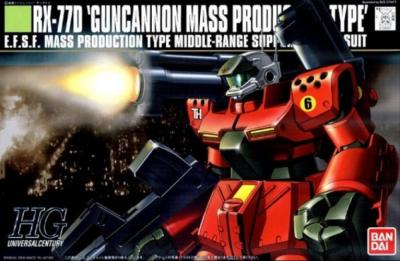 HGUC GUNCANNON MASS PRODUCT TYPE