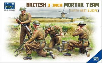 BRITISH 3 INCH MORTAR TEAM (North west europe)