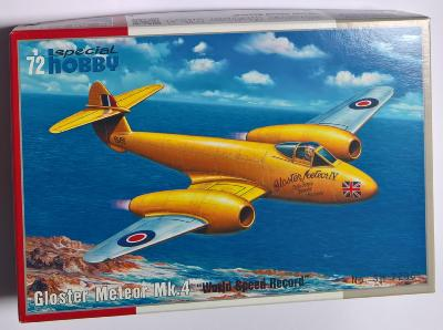 Gloster meteor MK4 world speed record