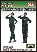 Taiwan Woman Soldier