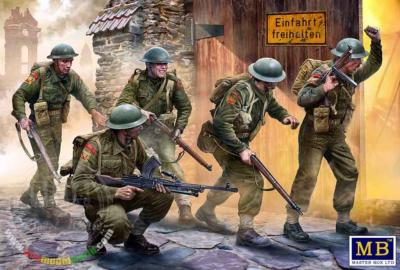 British infantry, Europe de l'ouest, 1944-1945