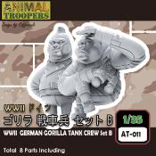 WWII German Gorilla Tank Crew Set B